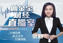 佣金宝财经直播室——美女分析师张杨
