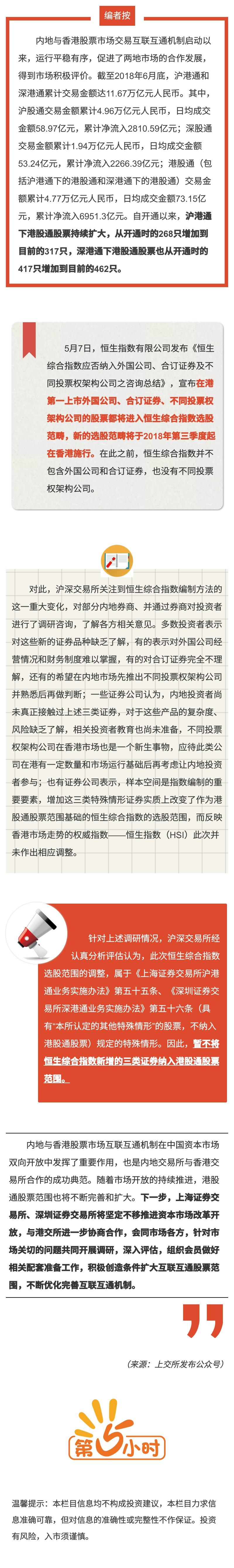 沪深交易所对互联互通机制下港股通股票范围调整做出相应安排.jpg